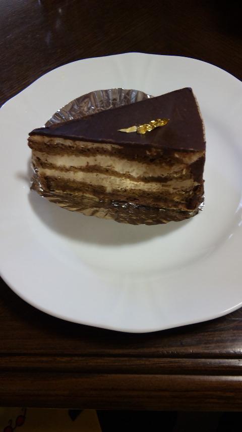 美味しいケーキ屋さんに行きました。