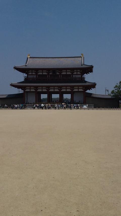平城京と朱雀門