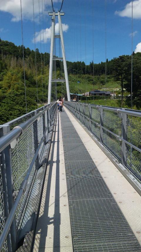 九重夢の大吊橋です。