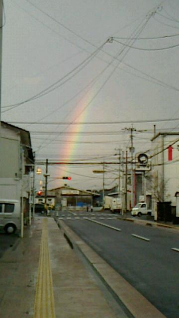虹は心をときめかせますね〓