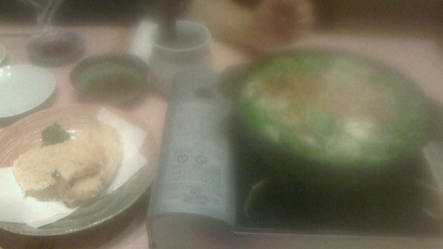 博多での夕食