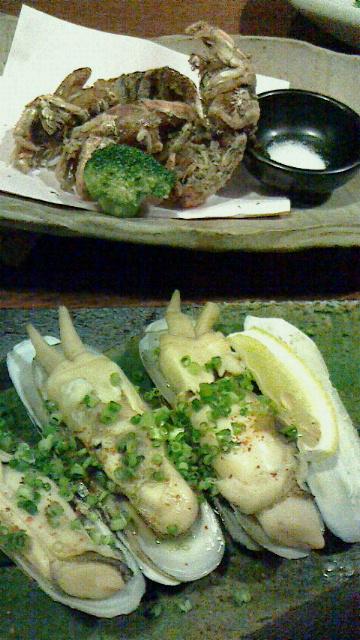 博多での夕食〓〓