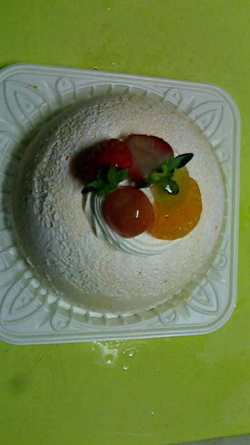 大学合格のお祝いのケーキ