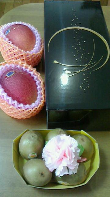 母の日のプレゼント【果物】