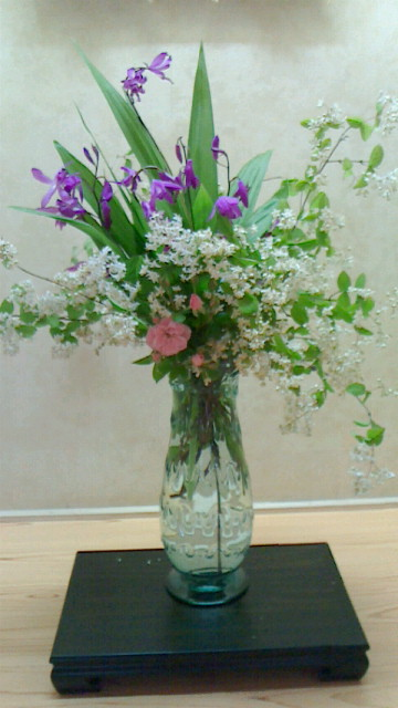 今年のお節句のお花