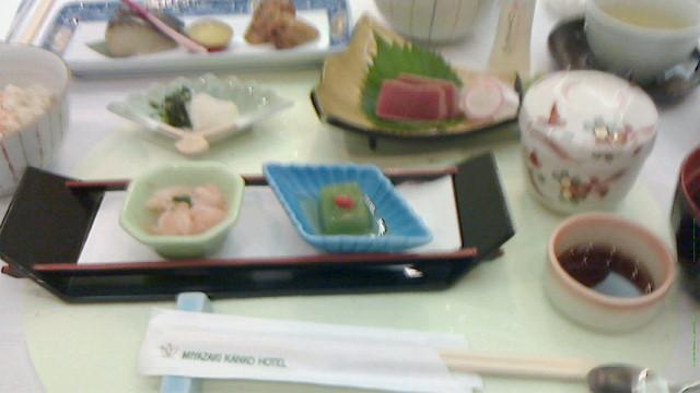 宮崎の昼食
