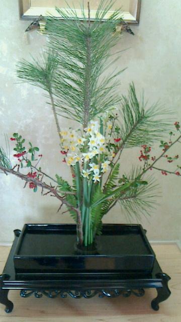 平成31年正月のお花