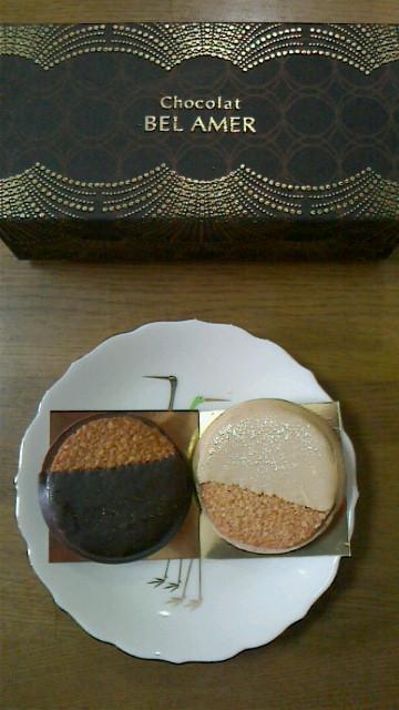 【ベルアメール】のチョコレート