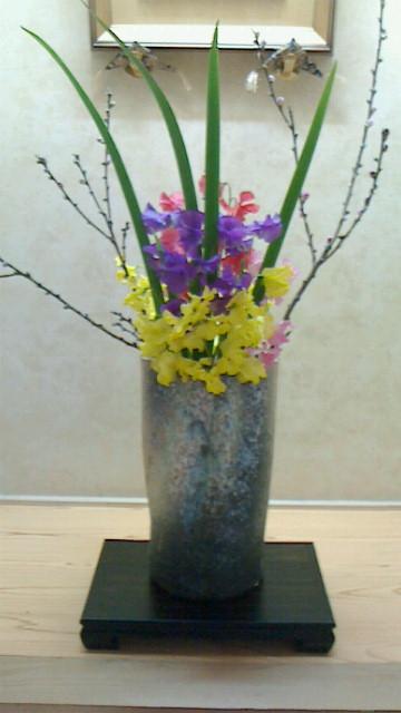 桃の節句のお花